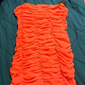 Sassy Coral Mini Dress! Forever 21 NWT!